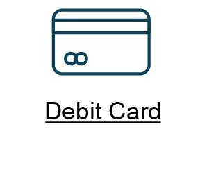 P Debit Card button