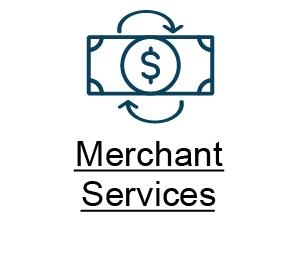 B Merchant Services button